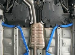 Cusco Боковые задние усилители пола для Subaru Legacy (03-09). Subaru Legacy, BP9, BL, BP, BPE, BP5 Двигатели: EJ25, EJ253, EZ30F, EJ20, EZ30D, EZ30