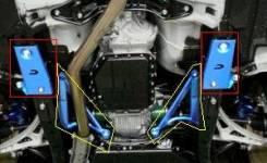 Балка поперечная. Subaru Legacy, BM, BR9 Двигатели: EJ25, EJ20