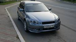 Губа. Subaru Legacy, BP, BL