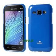 Силиконовый чехол Mercury Goospery для Samsung Galaxy J1 Синий