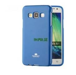 Силиконовый чехол Mercury Goospery для Samsung Galaxy A3 Синий