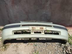 Бампер передний Toyota Corolla spacio ae111 спасио