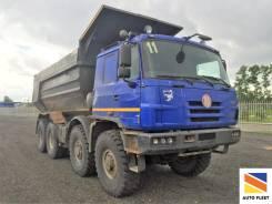 Tatra T815. Самосвал -230N9T 8x8 1R, 12 667 куб. см., 27 500 кг.