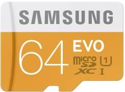 MicroSDXC. 64 Гб, интерфейс MicroSDXC