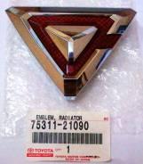 Эмблема решетки. Toyota Caldina, AZT246, ST246, AZT241, ZZT241 Двигатели: 1ZZFE, 3SGTE, 1AZFSE