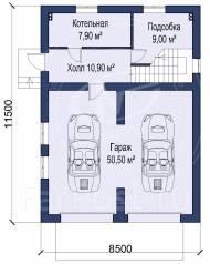 M-fresh Gardiiis (Покупайте сейчас со скидкой 20%! Узнайте! ). 100-200 кв. м., 1 этаж, 3 комнаты, бетон