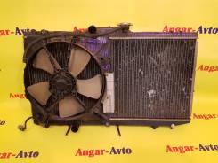 Радиатор охлаждения двигателя. Toyota Corolla Spacio, AE111 Двигатель 4AFE