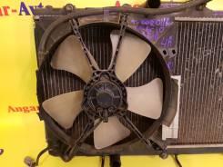 Вентилятор охлаждения радиатора. Toyota Corolla Spacio, AE111 Двигатель 4AFE