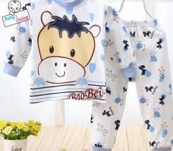 Пижамы. Рост: 74-80, 98-104 см