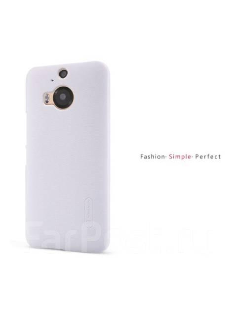 Чехол-накладка для HTC One M9 Plus(+) Nillkin Super Frosted Shield Белый