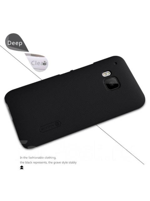 Чехол-накладка для HTC One M9 Nillkin Super Frosted Shield Черный