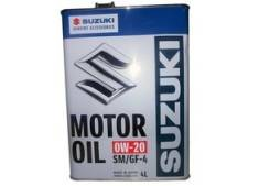 Suzuki. Вязкость 0W-20, полусинтетическое