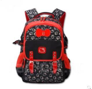 70e57e4fc7ef Рюкзак школьный ортопедический лицензированный Hello Kitty черный