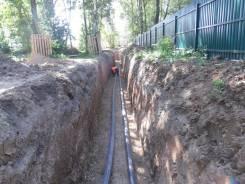 Монтаж систем водоотведения.