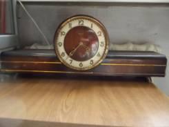 Каминные часы с боем фирмы FM Sonneberg Германия. Оригинал