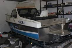 Продам катер FiberBoat 515 JET. Год: 2012 год, длина 5,50м., двигатель стационарный, 110,00л.с., бензин