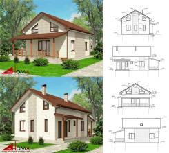 Проектирование домов, индивидуальные и типовые проекты.