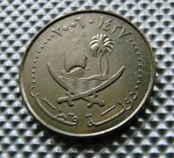 *020, Катар 50 дирхамов 2006. (Корабли, парусники, флот)