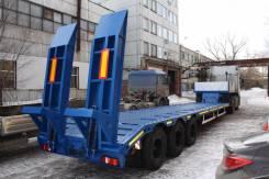 Техомs. Высокорамный трал односкатный новый от завода, 36 000 кг.