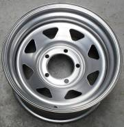 Steel Wheels. 8.0x16, 6x139.70, ET0, ЦО 110,5 мм.