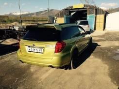 Накладка на спойлер. Subaru Legacy, BP Subaru Outback, BP. Под заказ из Новосибирска