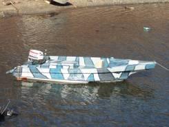 Продается моторная лодка Морской Дротик. Год: 2014 год, длина 4,50м., двигатель подвесной, 50,00л.с., бензин