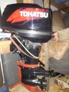 Tohatsu. 40,00л.с., 2х тактный, бензин, Год: 2014 год