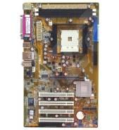 Материнская плата S754 ASUS K8U-X с процессором