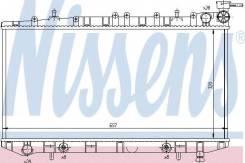 Радиатор охлаждения двигателя. Nissan Sunny