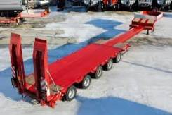 ТЕХОМS. Полуприцеп 5 осей 62 тонн раздвижной от завода изготовителя, 62 000 кг.