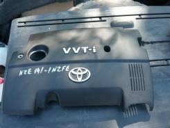 Крышка двигателя. Toyota Corolla Fielder, NZE141 Двигатель 1NZFE
