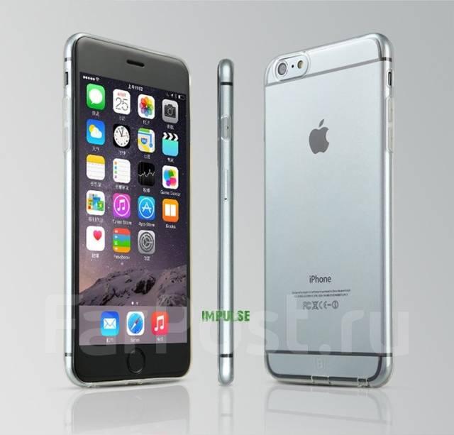 """Чехол-накладка для iPhone 6 4.7"""" Baseus Tpu Case Прозрачный Черный"""