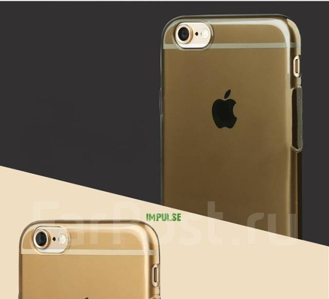 """Чехол-накладка для iPhone 6 4.7"""" Baseus Tpu Case Прозрачный Белый"""