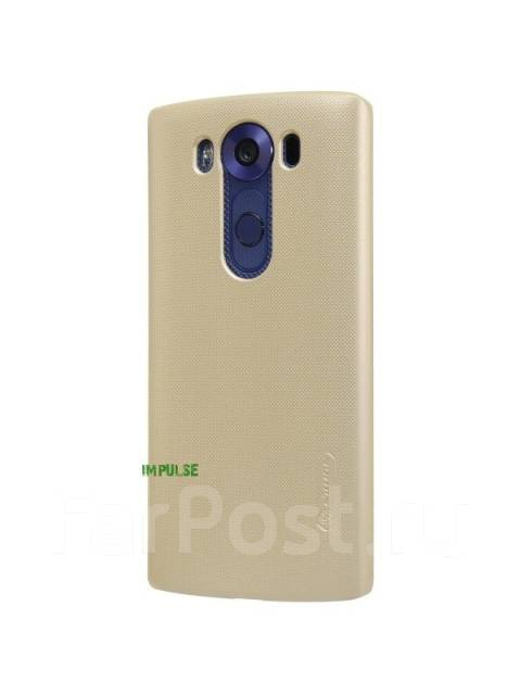 Чехол-накладка для LG V10 Nillkin Super Frosted Shield Золотой