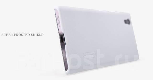 Чехол-накладка для Lenovo P70 Nillkin Super Frosted Shield Белый