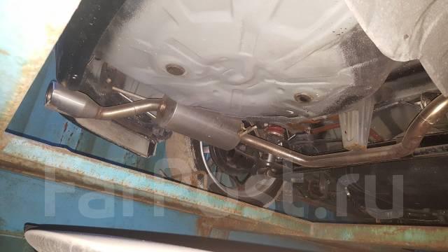 Глушитель. Toyota Corolla Axio, ZRE142, NZE141 Toyota Corolla Fielder, ZRE142G, NZE141, ZRE142, NZE141G Двигатели: 1NZFE, 2ZRFAE, 2ZRFE