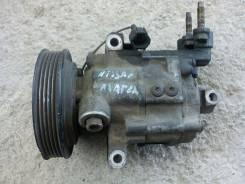 Компрессор кондиционера. Nissan March, BK12 Двигатель CR14DE
