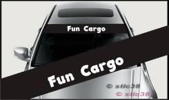 Наклейка. Toyota Funcargo