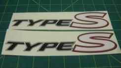 """*Наклейки """"Type S"""""""