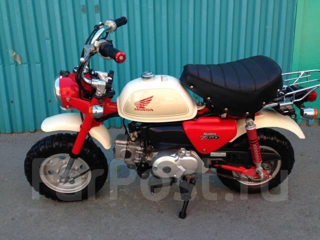 Honda Monkey. 49 куб. см., исправен, без птс, без пробега