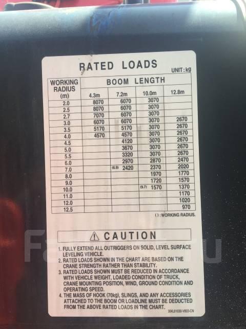 Hino 700. Борт+кран манипулятор HINO 700, 12 913куб. см., 16 800кг.