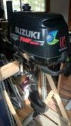 Suzuki. 5,00л.с., 4х тактный, бензин, Год: 2009 год
