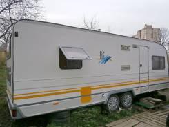 Knaus. 6 спал. мест, две 2-ярус. кровати Большой дом на колёсах 650, 2 000 куб. см.
