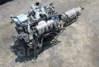 Двигатель в сборе. Toyota Crown, JZS151 Двигатель 1JZGE
