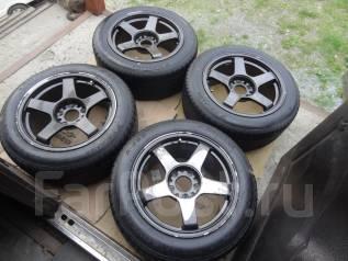 JDM колёса Hanbai DT05R M2 , R16. 8.5x16 5x114.30 ET37 ЦО 72,0мм.