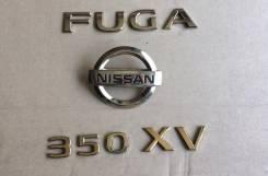 Эмблема. Nissan Fuga, KY51, PY50, KNY51, HY51, PNY50, GY50, Y51, Y50, 50, 51, 5