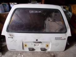 Дверь багажника. Nissan AD Wagon, VB11, VHB11, VSB11 Двигатели: CD17, E13S, E15S