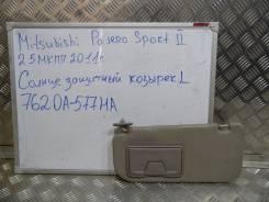 Козырек солнцезащитный. Mitsubishi Pajero Sport