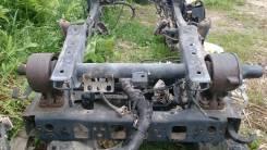 Механизм подъема кабины. Toyota Dyna