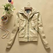 Fashionably&stylishly! Классная кожаная куртка от Pull and Bear!. 42